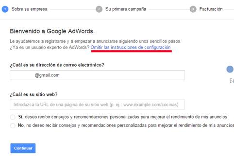 Como abrir cuenta en google adwords реклама пищевых товаров и их продуктов
